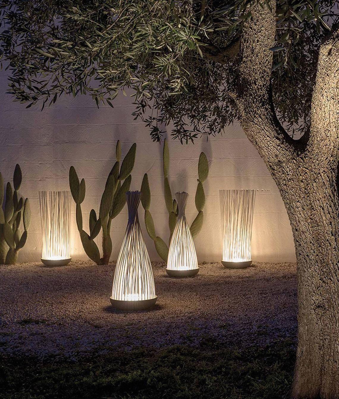 Malleable Led White Exterior Floor Light Garden Exterior Lighting Diy Outdoor Lighting Landscape Lighting