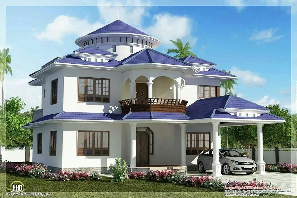 agreeable beautiful homes in california. beautiful dream home design sq feet kerala house idea isometric  views small plans House with a purple roof violet Pinterest and Spaces