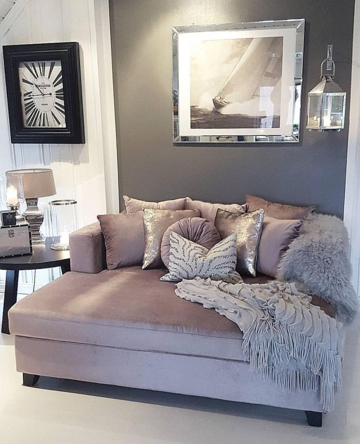 Bedroom Pillow Arrangement Bedroom Colour Scheme Bedroom Wallpaper Price Bedroom Decorating Ideas With Pine Furniture: Love This Mauve, Gray, And White Color Scheme For The