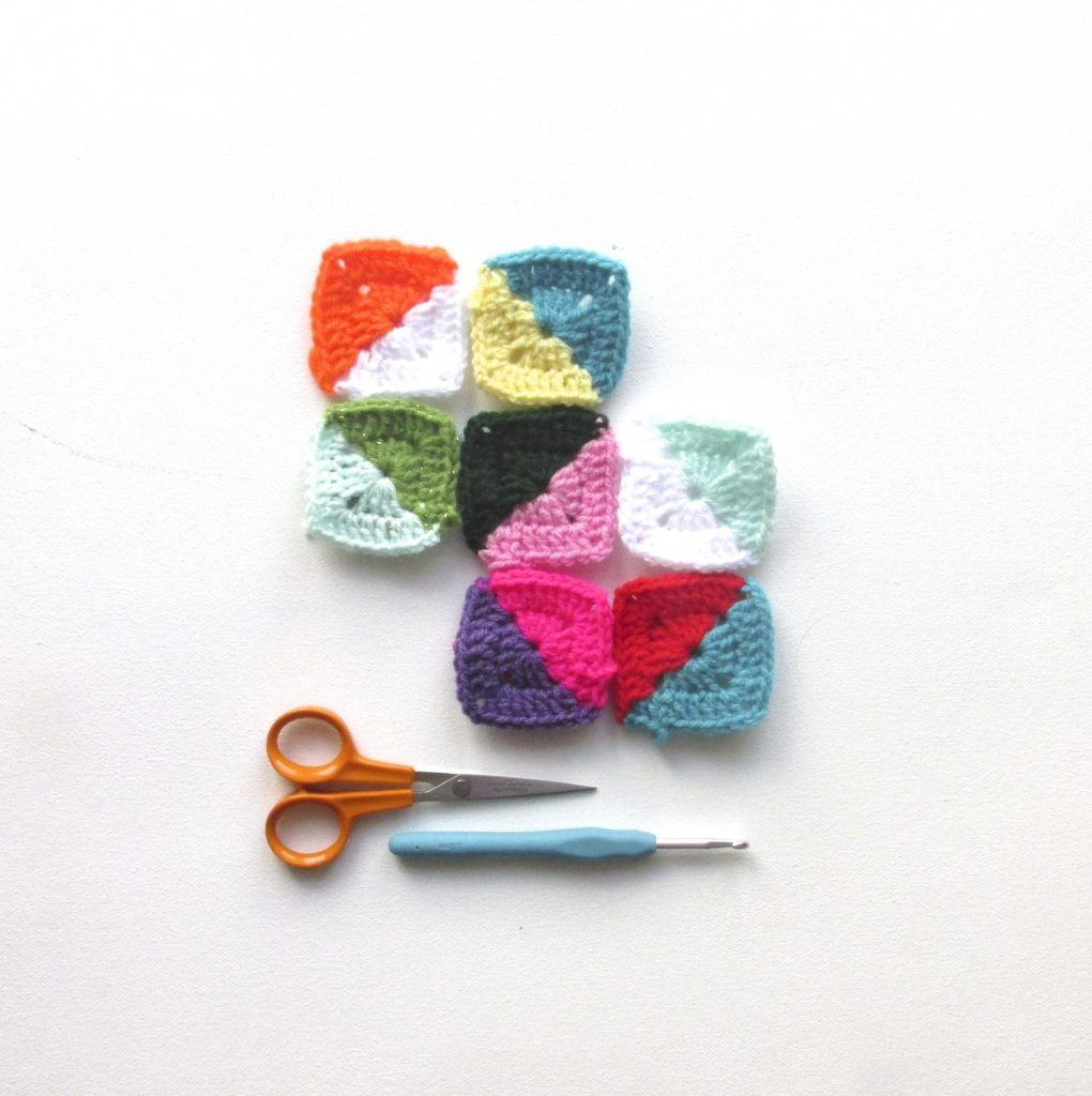 Free Geo-Hexie Crochet Pattern + Tutorial | Calabazas y Ganchillo