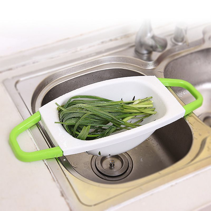 Butihome Folding Holder Wash Basket Kitchen Shelf