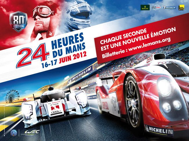 the 2012 le mans 24 hours race hits the billboards muscle cars rh pinterest com