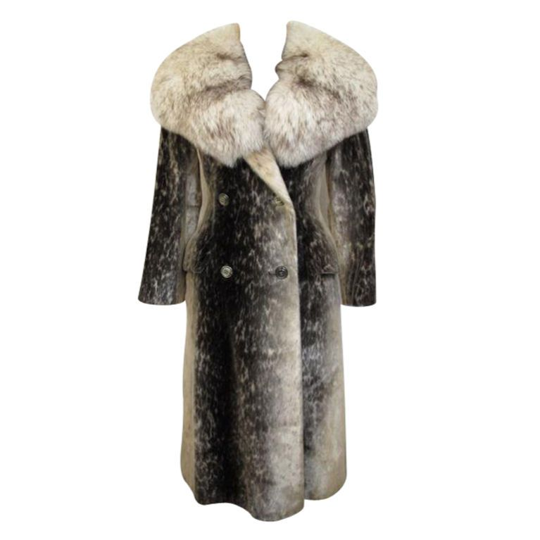 RARE! Stunning Birger Christensen Harp Seal Fur Coat | Coats Fur