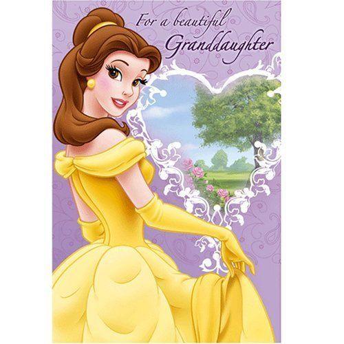 Happy Birthday Beautiful Granddaughter – Happy Birthday Princess Card