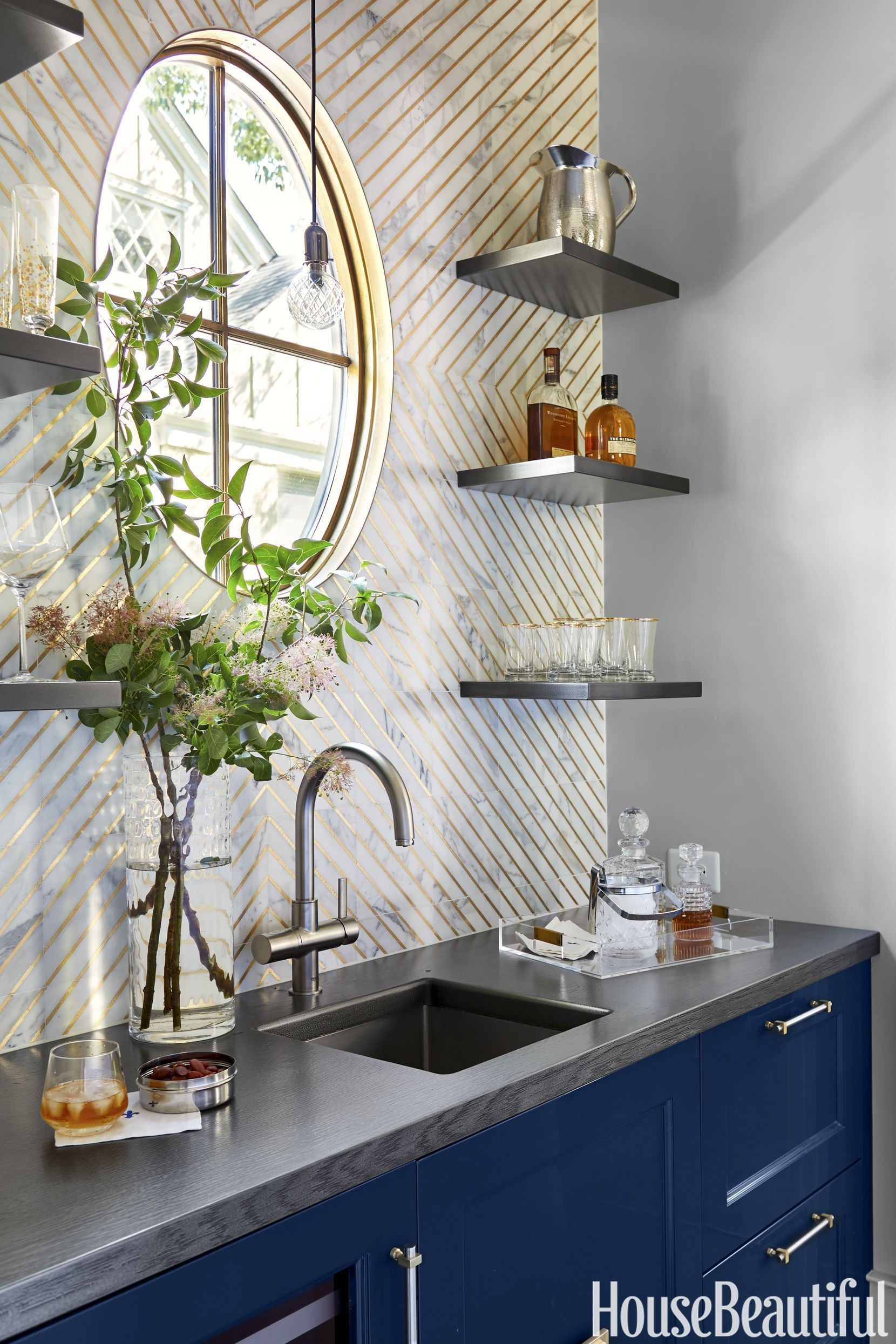 51 insanely chic kitchen backsplashes small kitchen storage ideas rh pinterest com