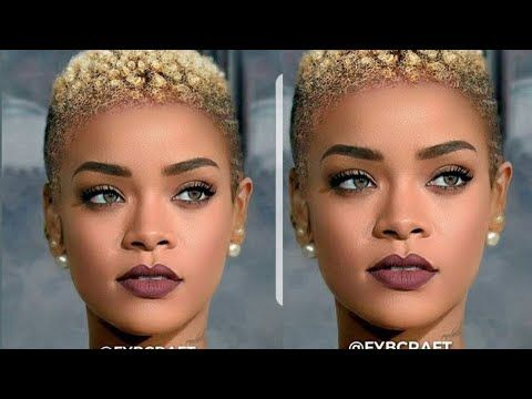 fantastic natural shortcut hairstyles for black women 2018