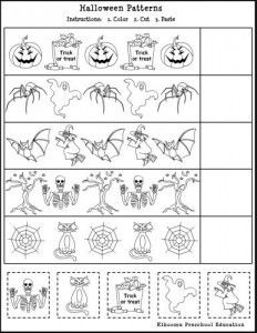 Free Printable Halloween Math Worksheet for Kids | Classroom Things ...