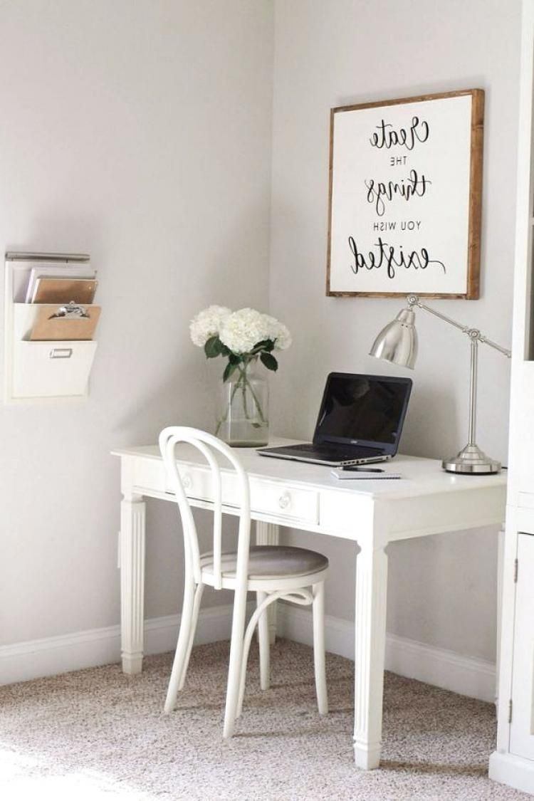gorgeous farmhouse living room office corner design ideas rh pinterest com
