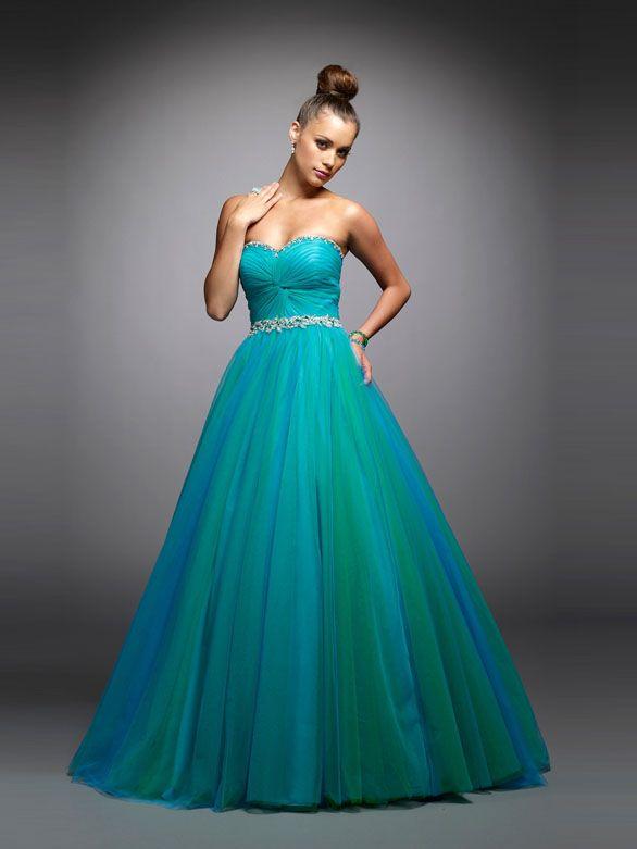 ... beliebt in Deutschland 2018 . Blaues Abendkleid, Tüll Ballkleid,  Hochzeitskleid, Schöne Kleider, Billig Kaufen, Prinzessin d08d711de2