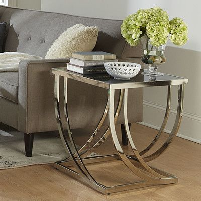 wade logan lucio arch curved sculptural end table in 2018 products rh pinterest com
