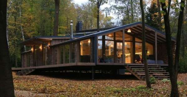 Awesome Prefab Cabin Was Built in 10 Days for Only 80,000