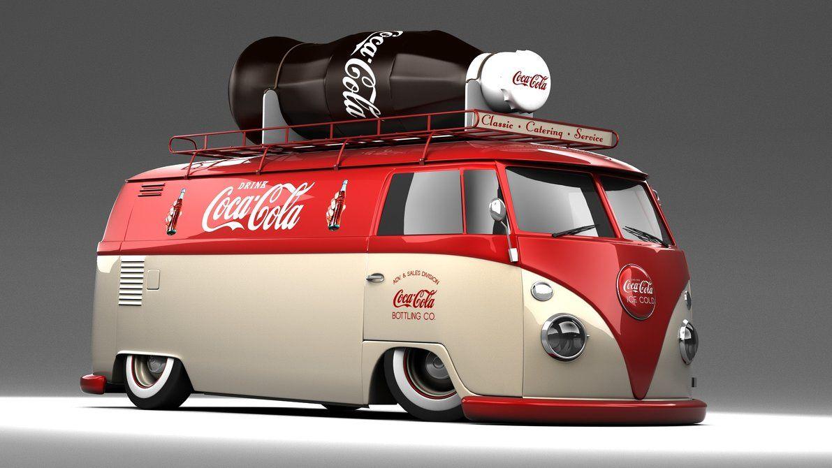 Pin On Coca Cola Coca cola bottle top car images vw