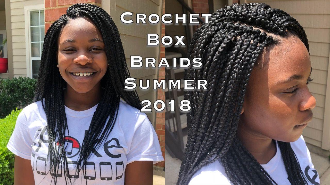 Youtube Natural Hair Styles Crochet Box Braids Long Hair Styles