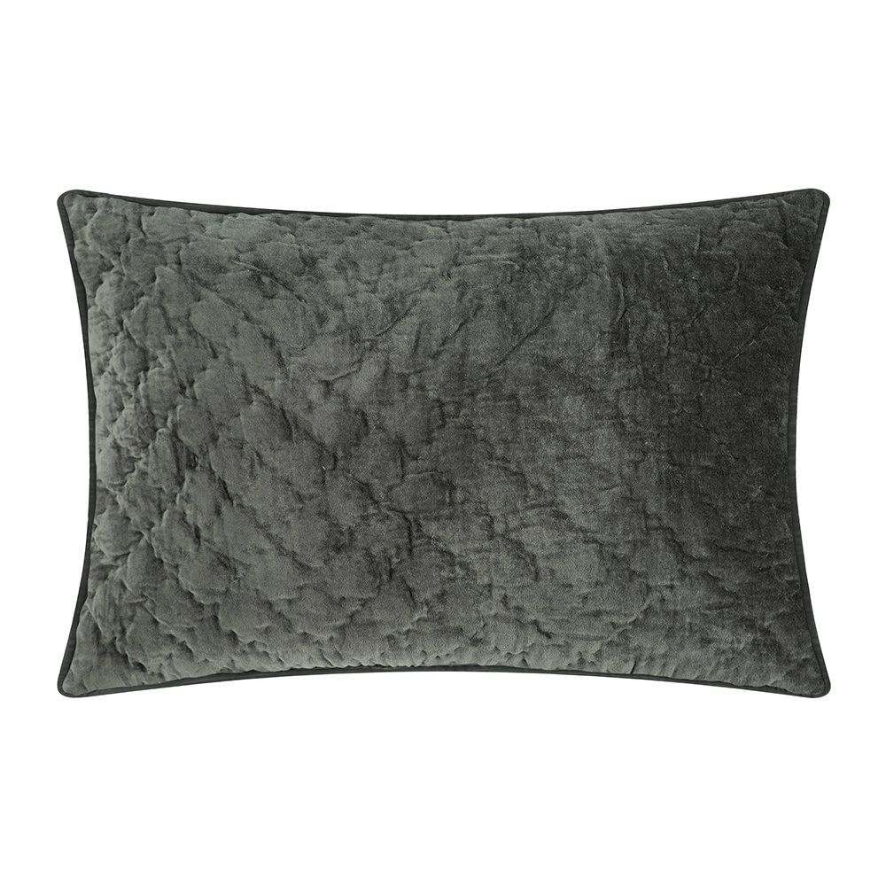 Buy The Velvet Quilted Cushion Cover Unblack 40x60cm From Day Birger Et Mikkelsen At Amara Free Uk Delivery On All Or Velvet Quilt Cushions Cushion Design