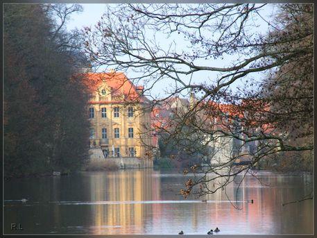 'Villa Concordia Bamberg' von Rosi Lorz bei artflakes