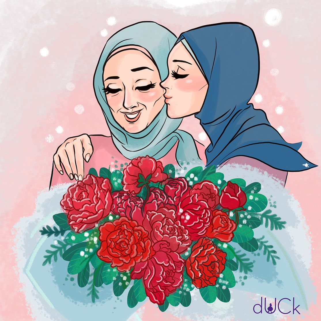 DuckScarves instagram illustration soefara Animasi