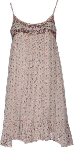 Short Dress - Lyst
