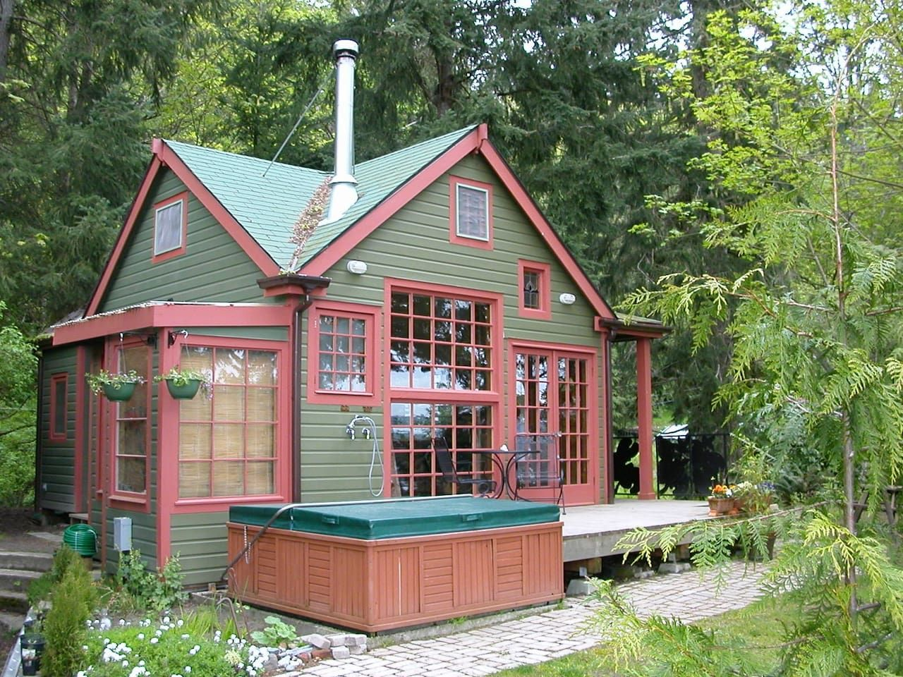 the last resort guest house cottages for rent in vashon rh pinterest com