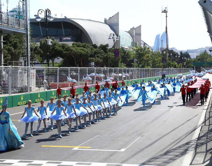 29th April, Baku, Azerbeidzjan grand prix