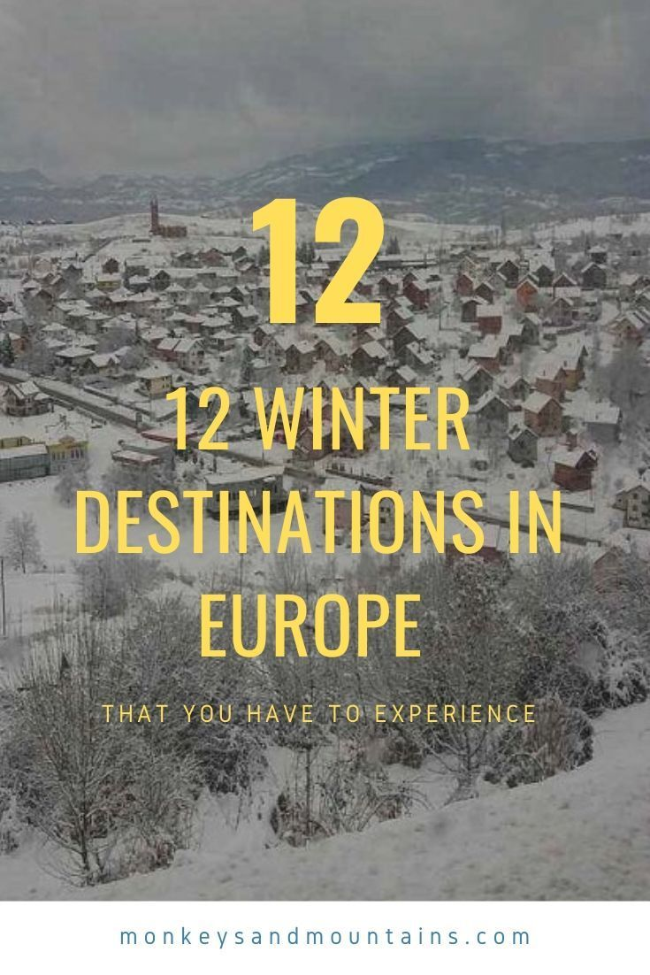 Photo of 12 destinos de invierno en Europa