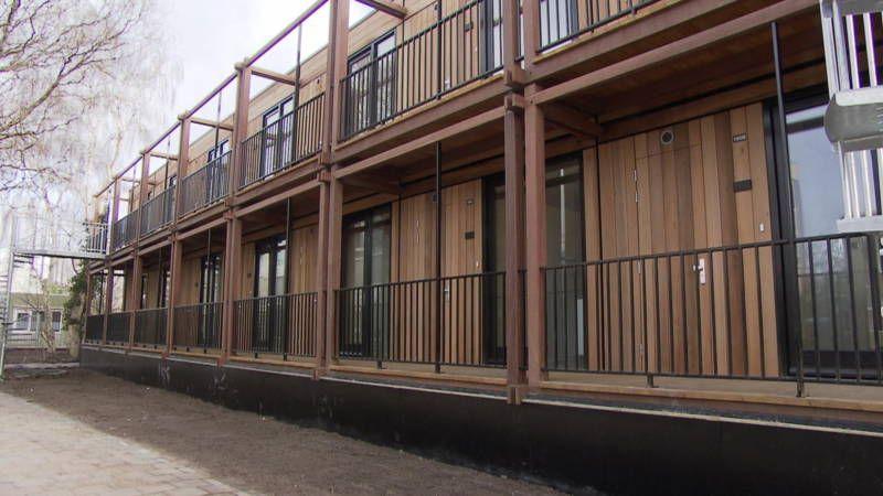 De gemeente Leiden is creatief in het bedenken van nieuwe huizen voor woningzoekenden. € 259 per maand:20 m2