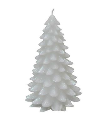 Maker\u0027s Holiday Large White Christmas Tree Candle Butterfly cards