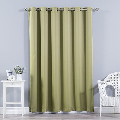 Rose Street Sage 80 X 84 In Wide With Thermal Blackout Curtain