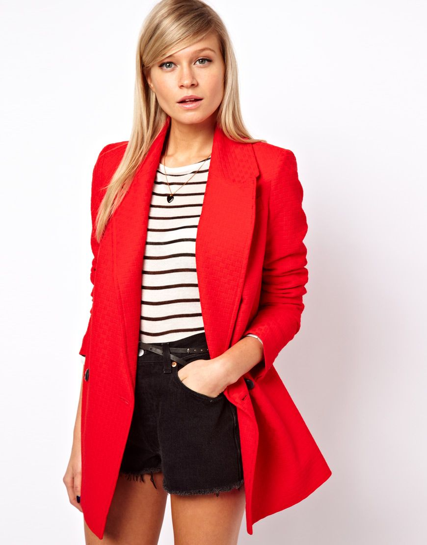 How to blazer a red wear pinterest forecast to wear for summer in 2019