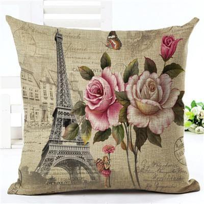 euro style home decor cushion cover big rose throw pillows sofa char rh pinterest ca
