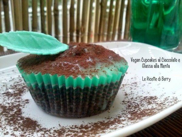 Cupcakes Vegan al Cioccolato e Menta
