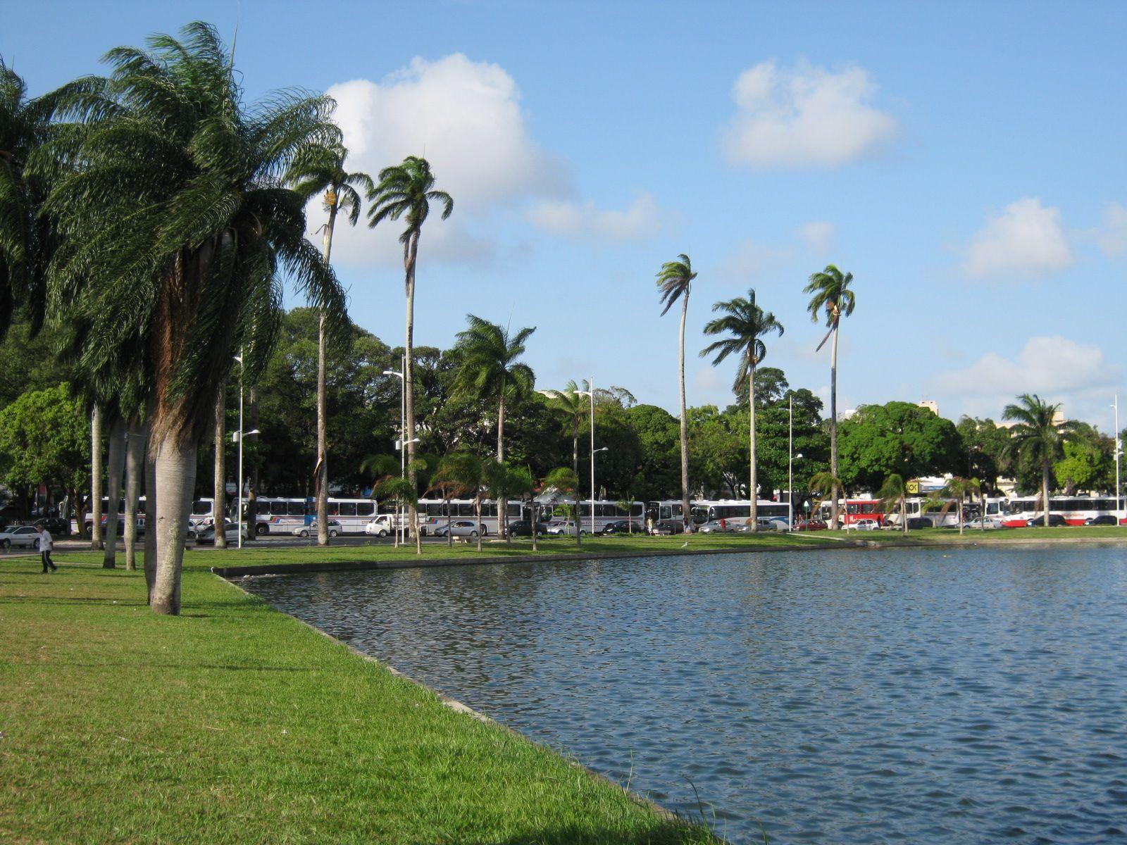 Ônibus de João Pessoa irão trafegar no anel externo do parque Solon de Lucena aos domingos