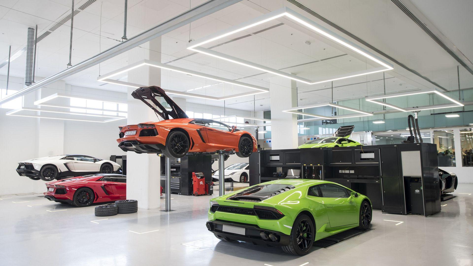 Lamborghini Ouvre Une Gigantesque Concession à Dubaï Lamborghini Voitures De Sport De Luxe Dubai