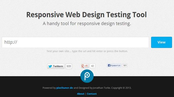 Free Online Responsive Design Testing Tools Ewebdesign Website Design In General Design Tool Design Tools