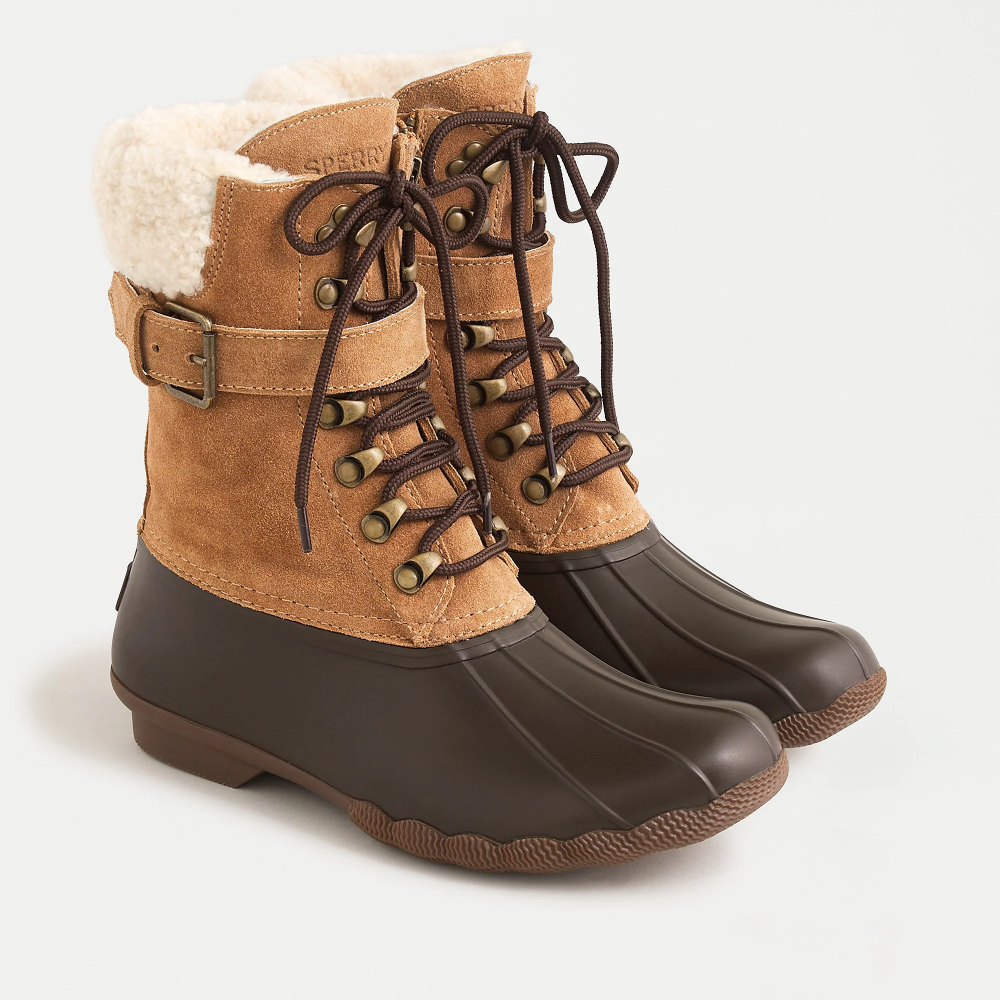 Sperry® Shearwater boots with buckle