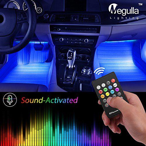 Underdash Lighting Kit Megulla 4pc Usb Powered Rgb Multi Color Led