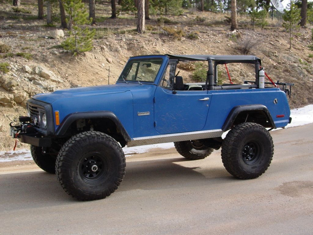 Jeepster Commando Roll Cage