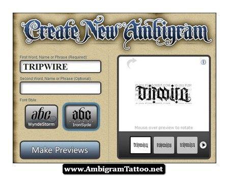 Free Ambigram Tattoos Creator 03 Http Ambigramtattoo Net Free Ambigram Tattoos Creator 03 Ambi Ambigram Tattoo Ambigram Tattoo Generator Ambigram Generator