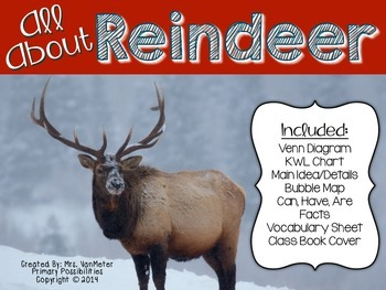 9a0af37a7e3a1230c7f9ca9b3a5604b9 reindeer facts (graphic organizers) reindeer facts, graphic