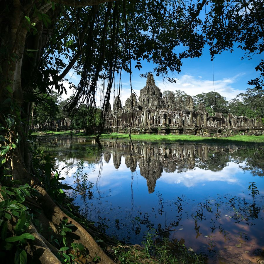 Situated in the Angkor complex, Siem Reap province, Kingdom of Cambodia.