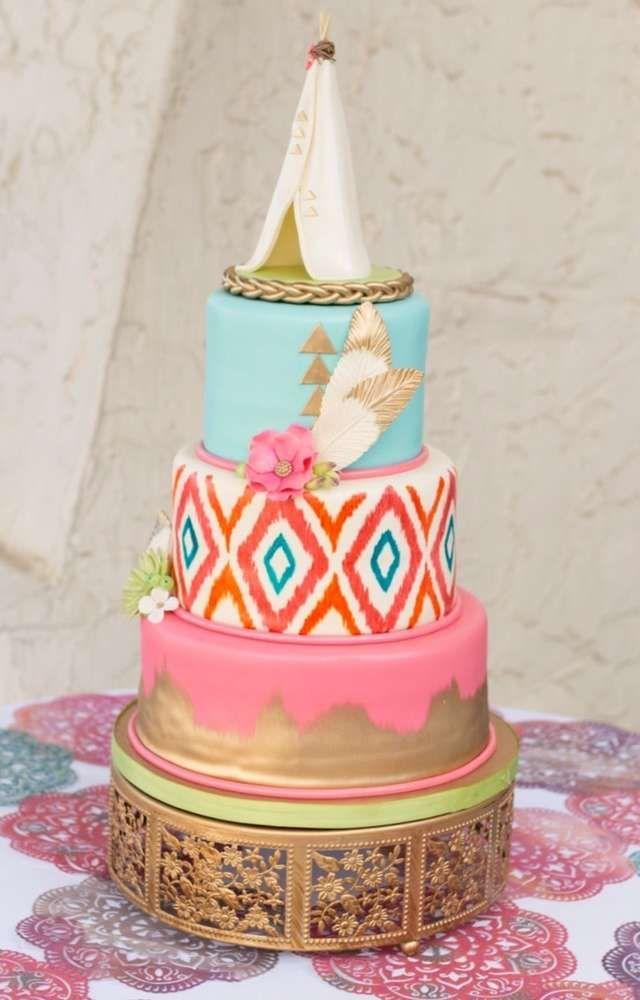 Bohemian Birthday Party Ideas Photo 24 Of 26 Catch My