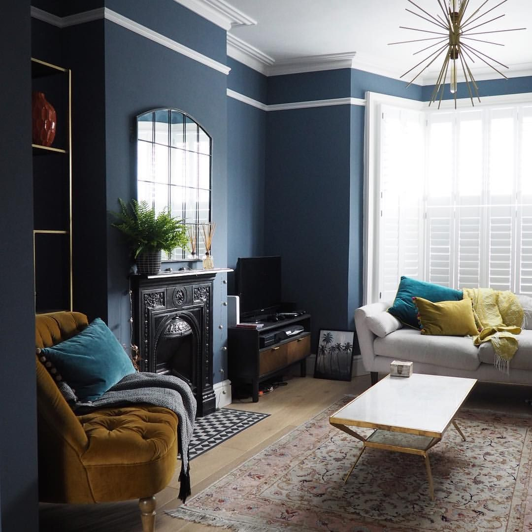 Take A Look Round This Cosy Victorian Terrace With Modern: Juniper Ash By Little Greene