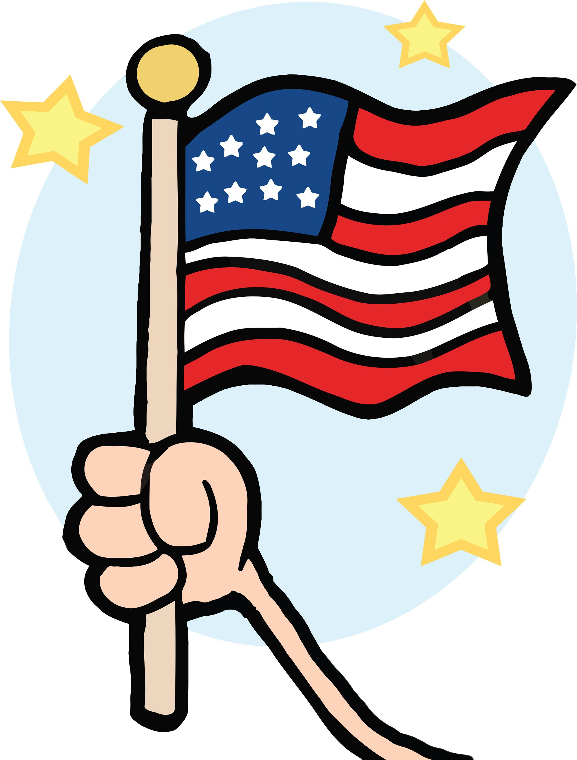 AMERICAN FLAG Free Clip art of Patriot Day Cliparts 5901 Best