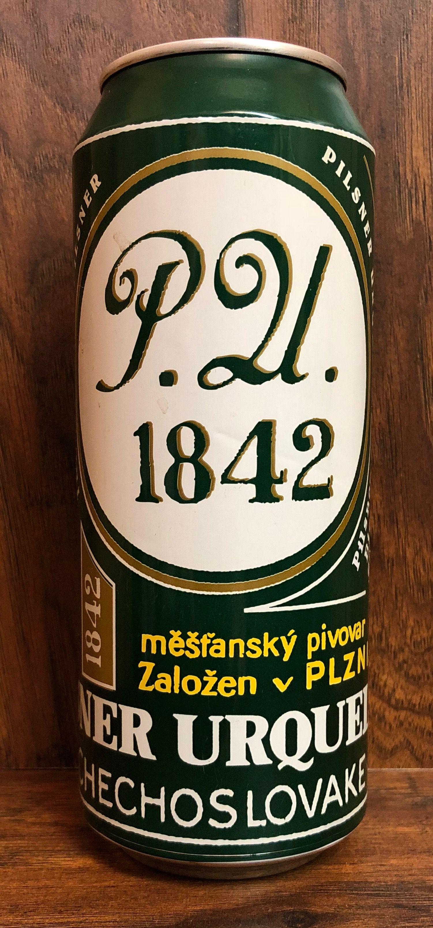 P  U  1842 - Pilsner Urquell Brewery - Plzen, Czech Republic | Non