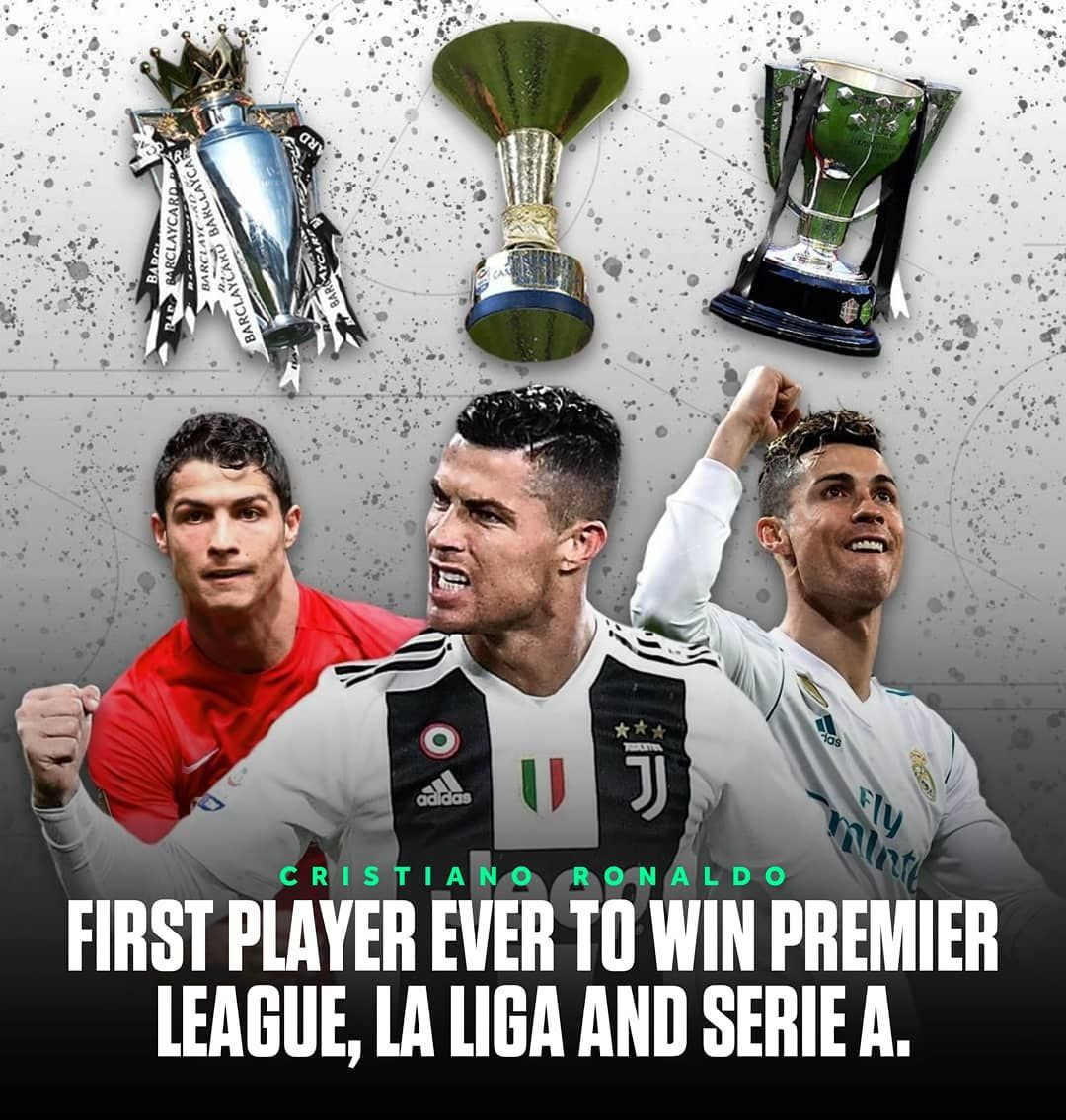The First Player Ever To Win Premier League La Liga And Serie A