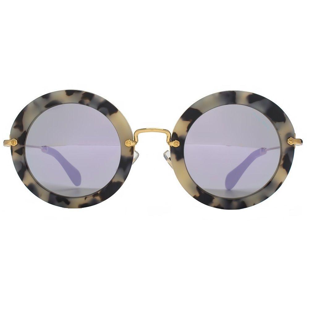 5a1be2138118e Novo Miu Miu com lentes espelhadas! ♥  muitoamor  lindo  miumiu  round   compreonline  fretegratis  oticaswanny