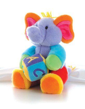 "Aurora Plush 12"" ABC's Musical Elephant Aurora Plush ABC's Musical Elephant - 12"" http://www.amazon.com/dp/B000MPBZ6Q/ref=cm_sw_r_pi_dp_wHe2ub17XX256"
