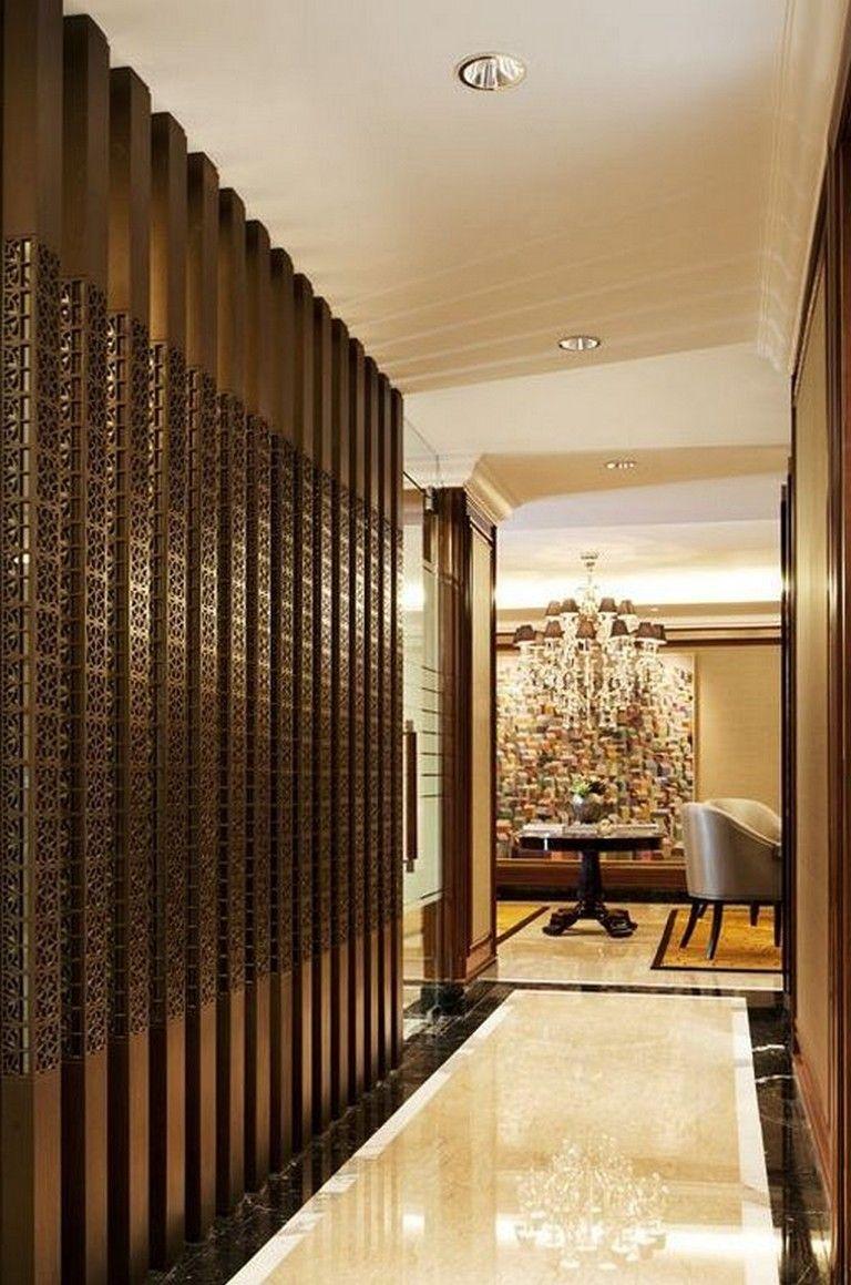 24 Stunning Warm Villa Interior Design Ideas For Inspiration In 2020 Foyer Design Modern Entryway Decor House Design
