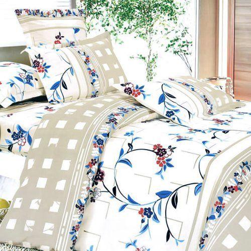 Blancho Bedding Palace Wall Luxury 4pc Comforter Set Combo