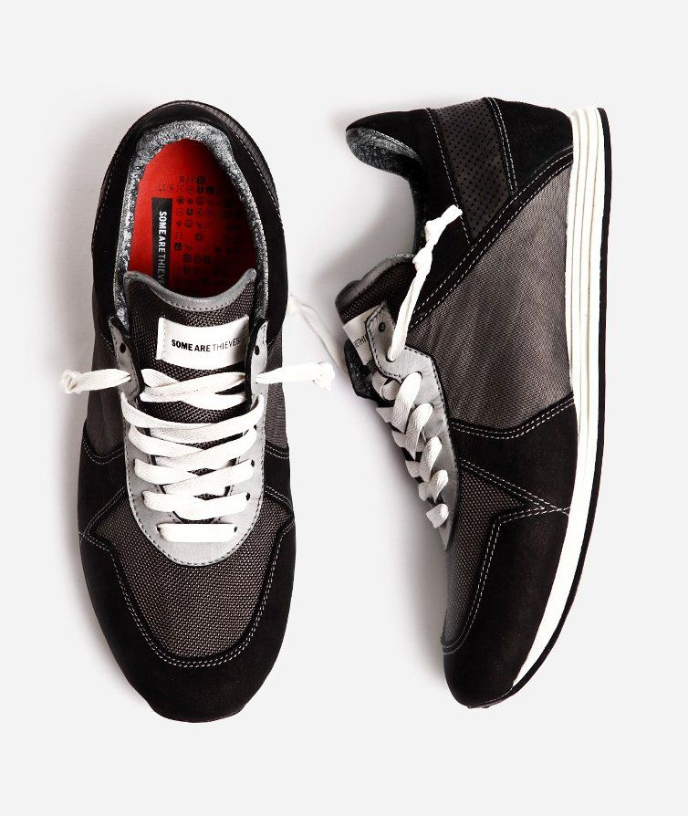 781038988148 Runaway Sneakers anthracite. The Some Are Thieves Runaway Sneakers is one  characteristic shoe with vintage