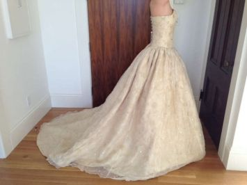 Dizzie Lizzie Couture Made In England Wedding Dress | Princess ...